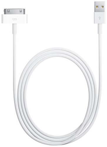 Unbranded 30-Pin to USB Cable