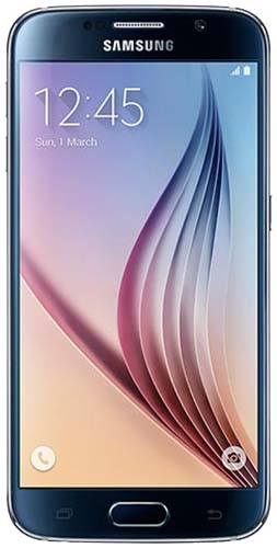 Galaxy S6  32GB Black Sapphire Vodafone Refurbished Good