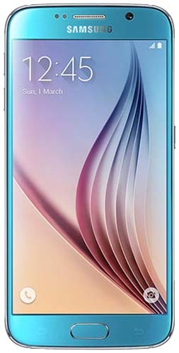 Galaxy S6  32GB Blue Topaz Unlocked Refurbished Excellent