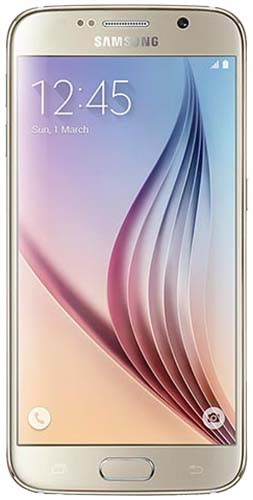 Galaxy S6  32GB Gold Platinum Vodafone Refurbished Good