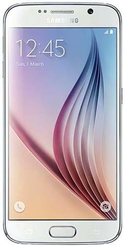 Galaxy S6  32GB White Pearl Vodafone Refurbished Good